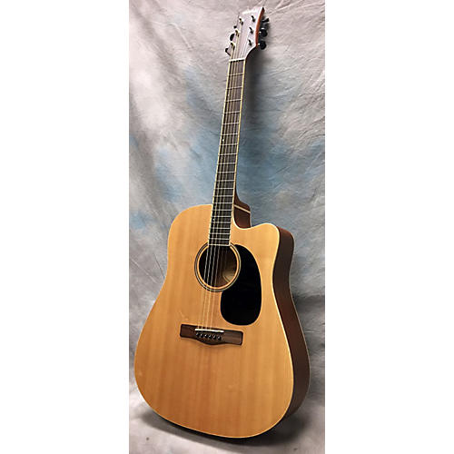 Mitchell ME1CE Acoustic Electric Guitar Natural