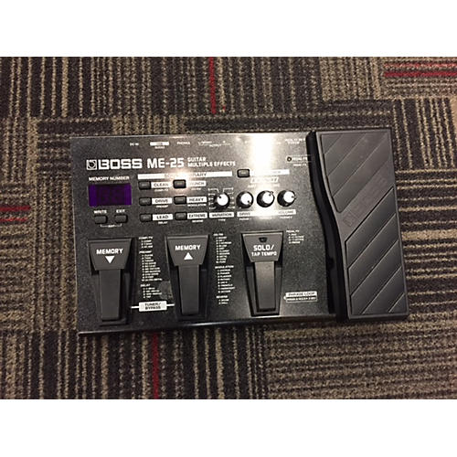Boss ME25 Guitar Multi Effect Processor-thumbnail