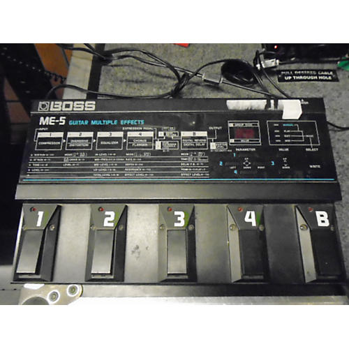 Boss ME5 Guitar Multi Effect Processor