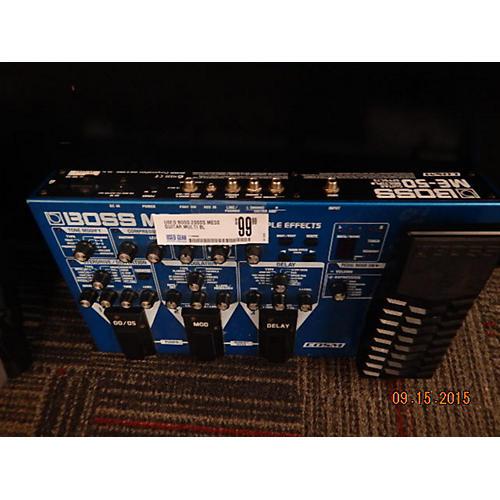 Boss ME50 Guitar Multi Blue Effect Processor