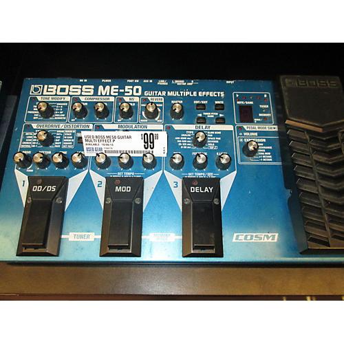 Boss ME50 Guitar Multi Effect Processor