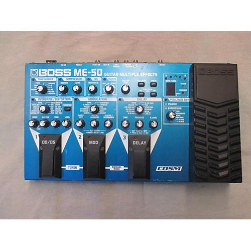 Boss ME50 Guitar Multi Effect Processor-thumbnail