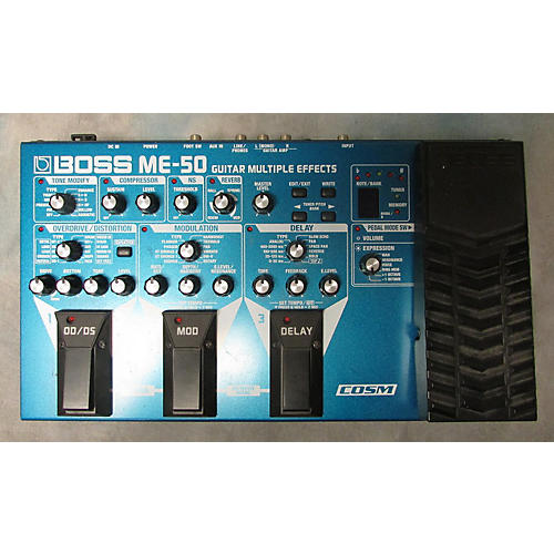 Boss ME50 Guitar Multi Effect Processor-thumbnail