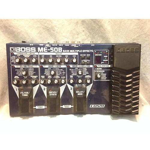 Boss ME50B Bass Multi Bass Effect Pedal