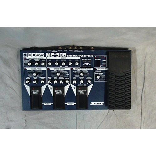 Boss ME50B Bass Multi Bass Effect Pedal-thumbnail