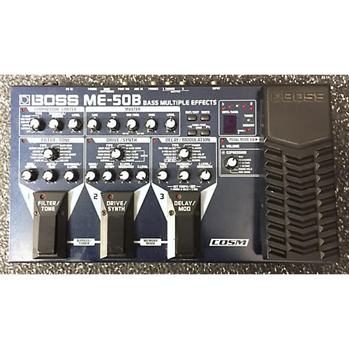 Boss ME50B Bass Multi Bass Effect Pedal-thumbnail