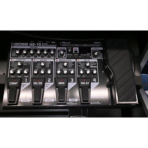 Boss ME70 Guitar Multi Effect Processor-thumbnail