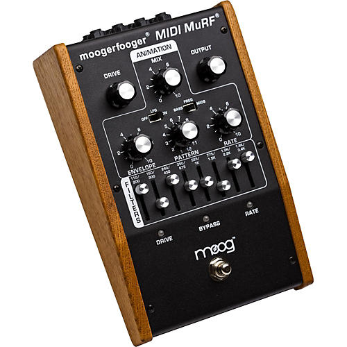 Moog MF-105M Moogerfooger MIDI MuRF Analog Filter Guitar Effects Pedal-thumbnail