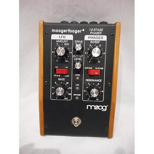 Moog MF103 MOOGERFOOGER 12 STAGE PHASER Effect Pedal