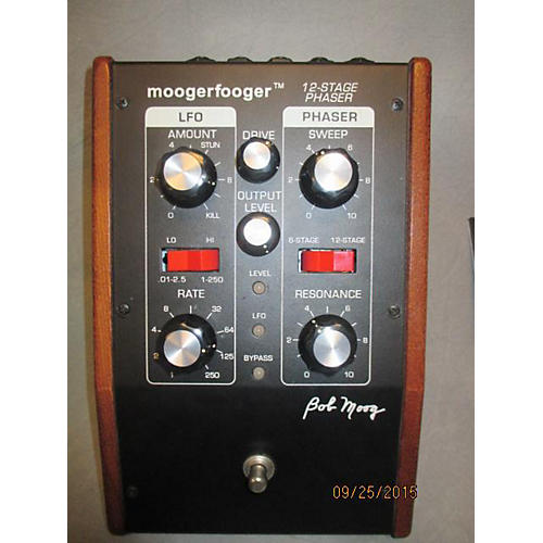 Moog MF103 Moogerfooger 12 STAGE PHASER Effect Pedal-thumbnail