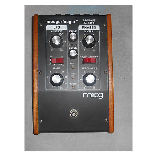 Moog MF1053 12-STAGE PHASER Effect Pedal-thumbnail