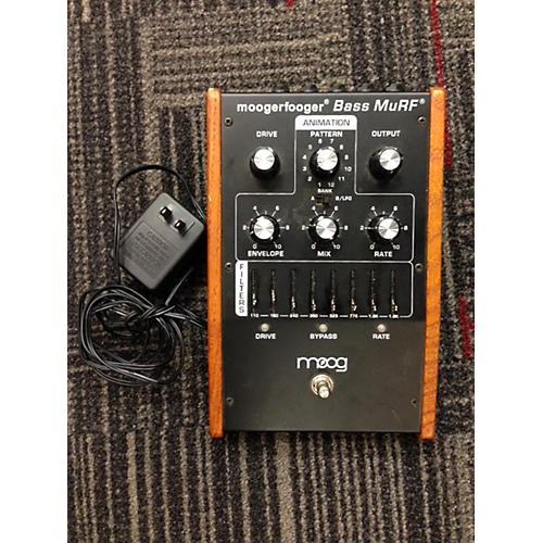 In Store Used MF105M BASS MuRF MISSING KNOB CAP ON FILTER SLIDERS Bass Effect Pedal