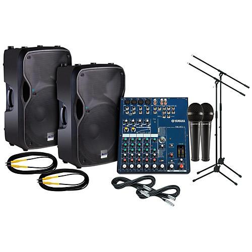 Yamaha MF82CX Alto TS115A PA Package