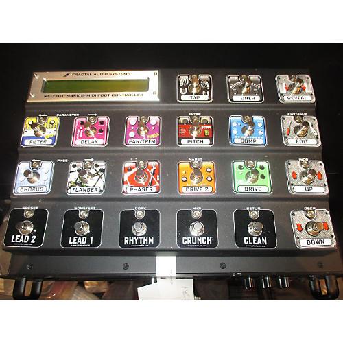 Fractal Audio MFC101 W/2 EV1 EXP PEDALS Pedal Board