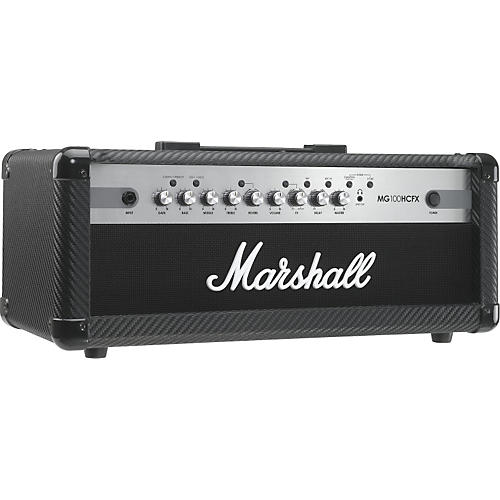 marshall mg series mg100hcfx 100w guitar amp head carbon fiber guitar center. Black Bedroom Furniture Sets. Home Design Ideas
