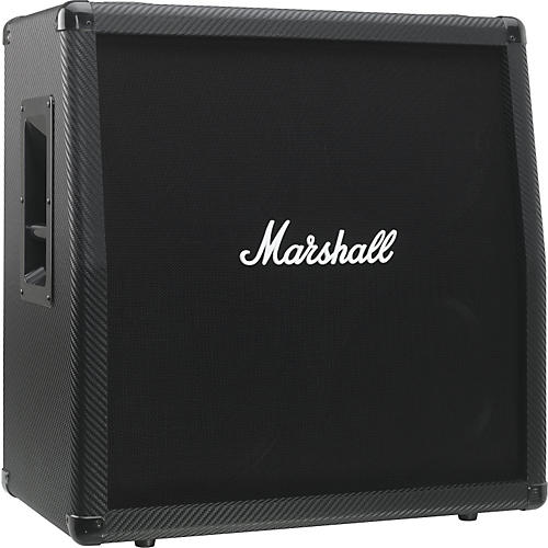 Marshall MG Series MG412CF 4x12 Guitar Speaker Cabinet Carbon Fiber Slant-thumbnail