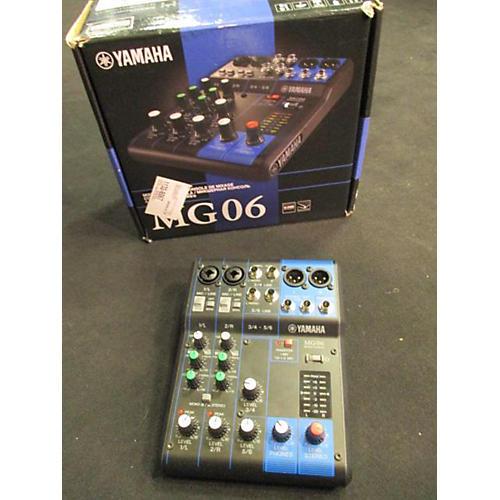 Yamaha MG06 Line Mixer