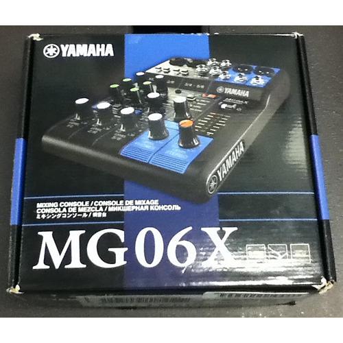 Yamaha MG06X Digital Mixer