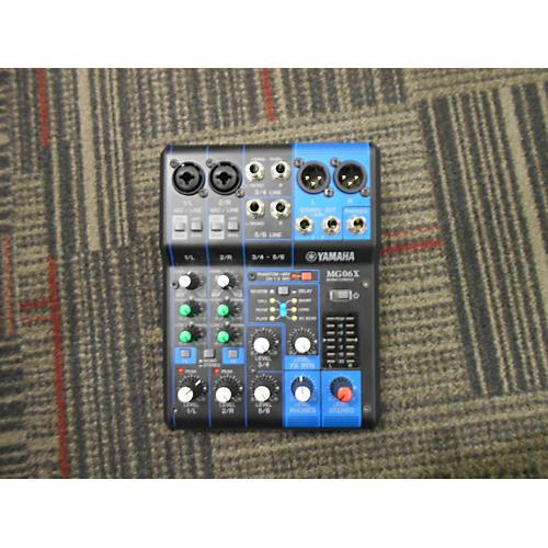 used yamaha mg06x digital mixer guitar center. Black Bedroom Furniture Sets. Home Design Ideas