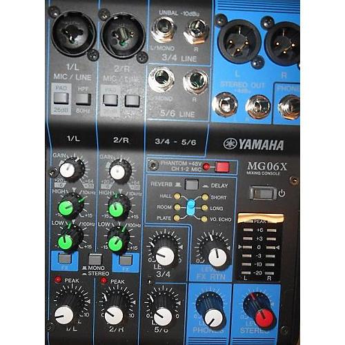 Yamaha MG06X Power Amp