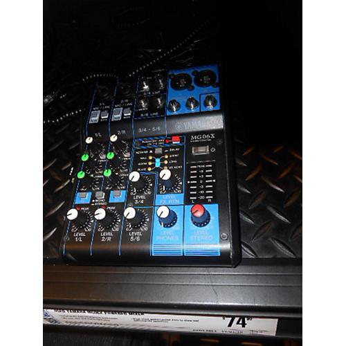 Yamaha MG06X Powered Mixer-thumbnail