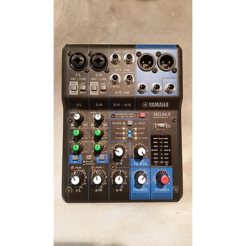 Yamaha MG06X Powered Mixer-thumbnail