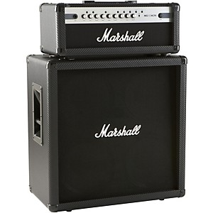 Click here to buy Marshall MG100HCFX 100 Watt Head with MG412CF 4x12 Cab by Marshall.