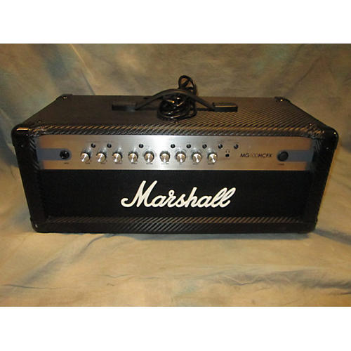 Marshall MG100HCFX 100W Solid State Guitar Amp Head-thumbnail