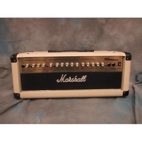 Marshall MG100HDFX 100W IVORY Guitar Amp Head-thumbnail