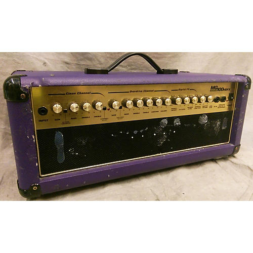 Marshall MG100HDFX 100W Purple Solid State Guitar Amp Head
