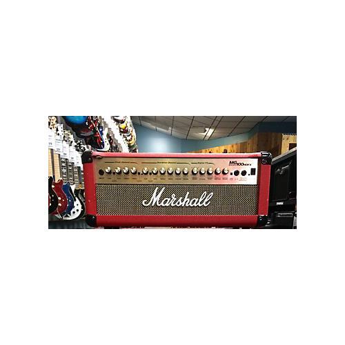 Marshall MG100HDFX 100W Red Guitar Amp Head