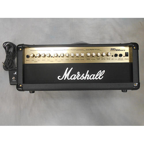 Marshall MG100HDFX 100W Solid State Guitar Amp Head-thumbnail