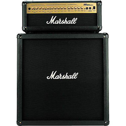 Marshall MG100HDFX/MG412 Half Stack with Digital Effects-thumbnail