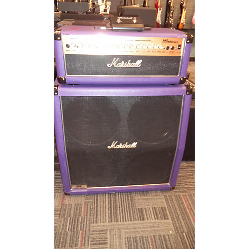 Marshall MG100HDFX Purple With MG412 AMP COMBO A GUITAR