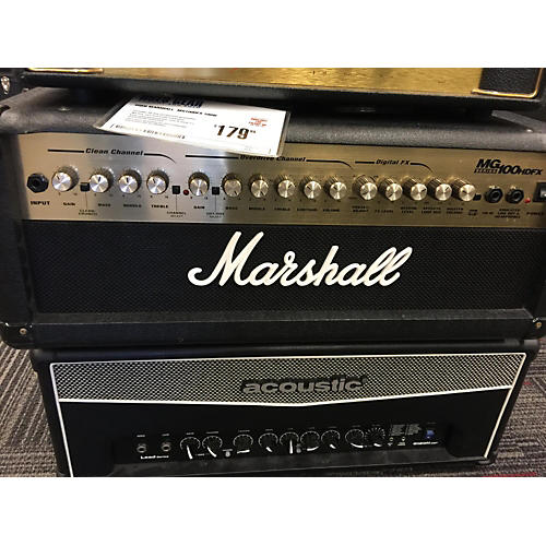 Marshall MG100HFX 100W Guitar Amp Head