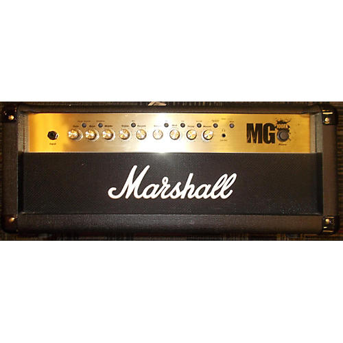 Marshall MG100HFX 100W Solid State Guitar Amp Head-thumbnail