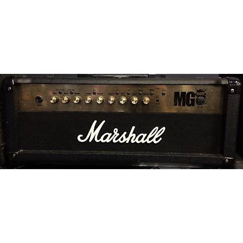 used marshall mg100hfx 100w solid state guitar amp head guitar center. Black Bedroom Furniture Sets. Home Design Ideas