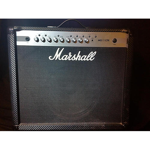 used marshall mg101fx 100w 1x12 guitar combo amp guitar center. Black Bedroom Furniture Sets. Home Design Ideas