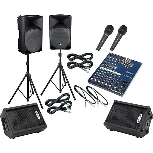 Yamaha MG102C / Thump TH-15A Mains & Monitors Package-thumbnail