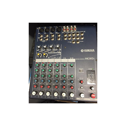 used yamaha mg102c unpowered mixer guitar center
