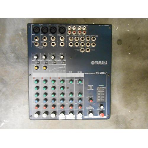 Yamaha MG102C Unpowered Mixer-thumbnail