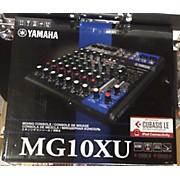 Yamaha MG10XU Unpowered Mixer