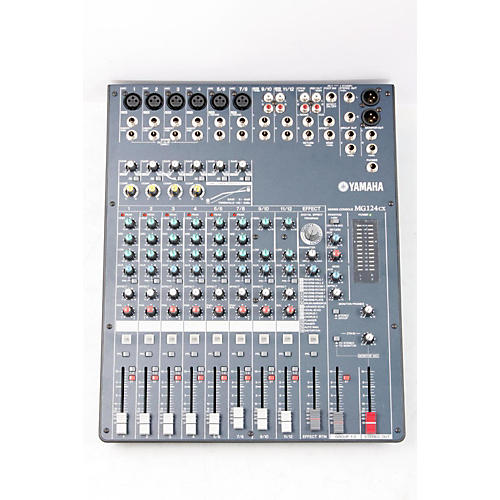 Yamaha MG124CX 12-Input Stereo Mixer with Compression and Effects  888365354613