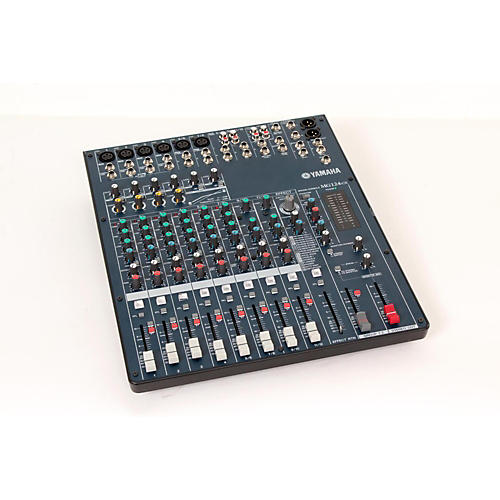 Yamaha MG124CX 12-Input Stereo Mixer with Compression and Effects  888365339436