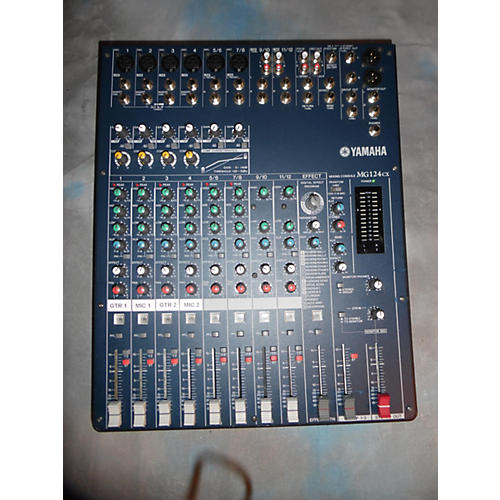 Yamaha MG124CX Unpowered Mixer