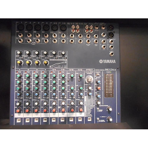 Yamaha MG124CX Unpowered Mixer-thumbnail