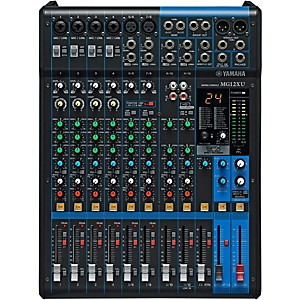 Yamaha MG12XU 12-Channel Mixer with Effects by Yamaha