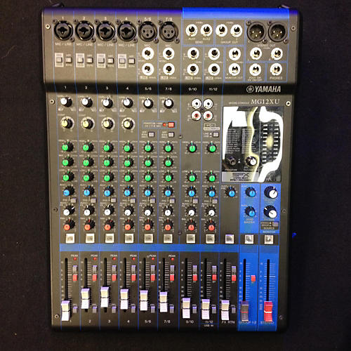 Yamaha MG12XU 12IN STEREO MIXER W/ FX Unpowered Mixer