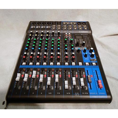 Used yamaha mg12xu digital mixer guitar center for Yamaha mg12 case