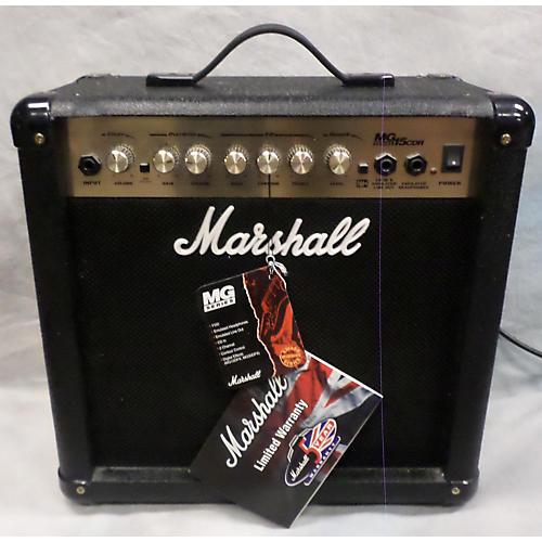 Marshall MG15CDR 15W 1X8 AMP COMBO A GUITAR